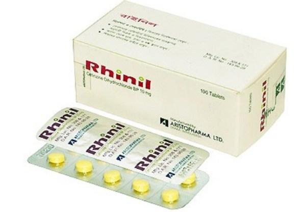 Rhinil Tablet 10 mg (Aristopharma Ltd)
