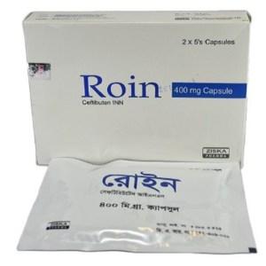 RoinCapsule 400 mg (Ziska Pharmaceuticals Ltd)