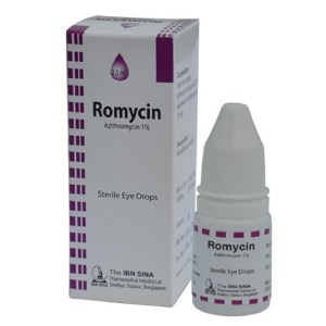 Romycin 1% - 5ml Drop Opthalmic Solution (Ibn-Sina Pharmaceuticals)