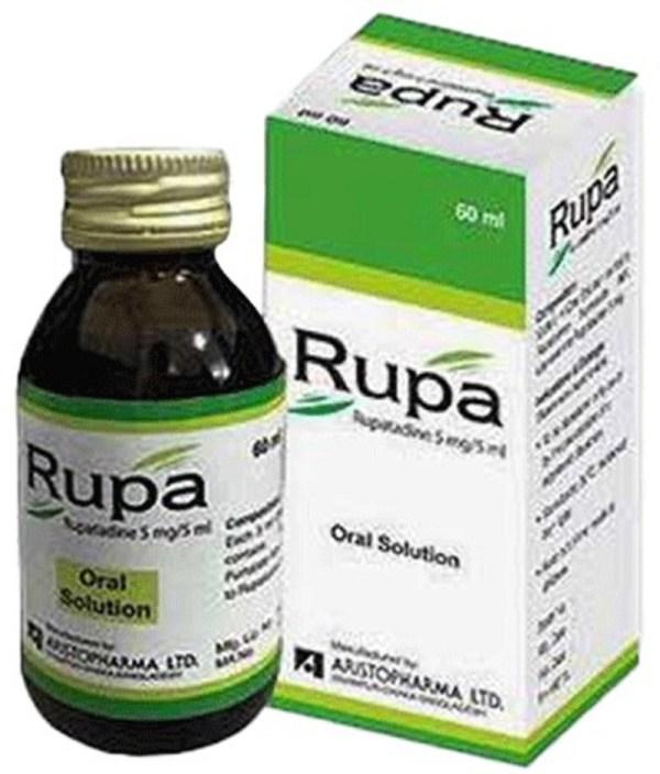 Rupa Oral Solution 60 ml (Aristopharma Ltd)