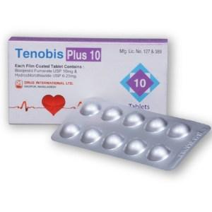 Tenobis Plus-Drug Int-10 mg+6.25 mg