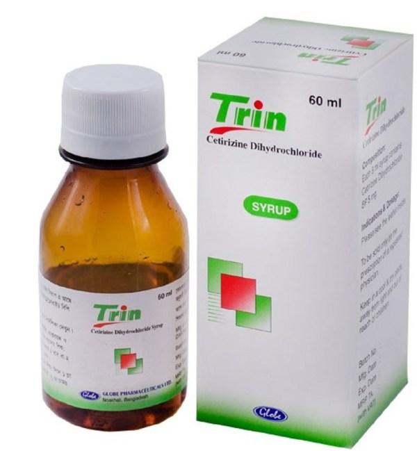 Trin Syrup 5mg 5ml - 60 ml (Globe Pharmaceuticals Ltd)