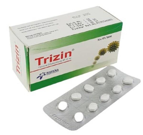 Trizin Tablet 10mg (Navana Pharmaceuticals Ltd)