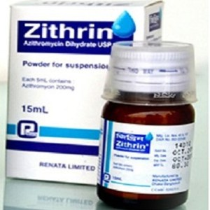 Zithrin Powder for Suspension 15ml (Renata Limited)