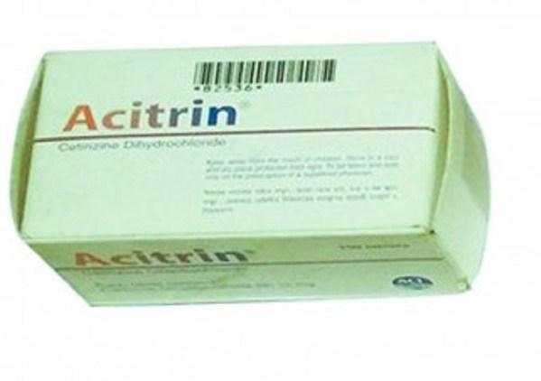 acitrin Tablet 10 mg (ACI Limited)