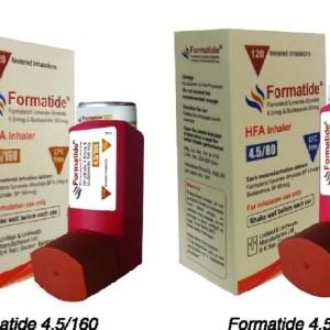 Formatide inhaler
