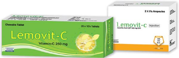 Lemovit-C- 5 ml ampoule Injection ZIska Pharmaceuticals Ltd