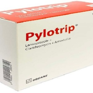 Pylotrip- Tablet & Capsule 30 mg+1 gm+500 mg - 4 tablets strip (Square Pharmaceuticals Ltd)