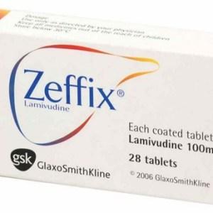 Zeffix- Tablet 100 mg (Glaxo Smith Kline)