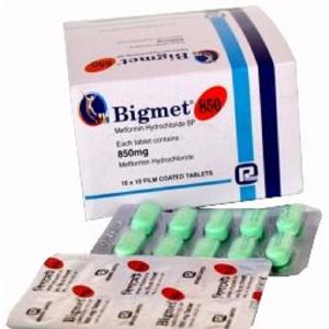 Bigmet- Tablet 850 mg reneta limited