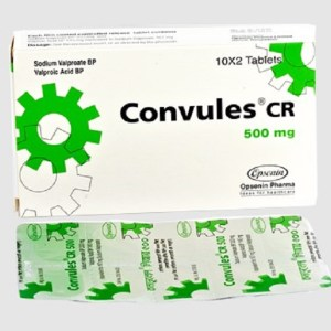 Convules CR - 500 mg Tablet (Controlled Release)( Opsonin )