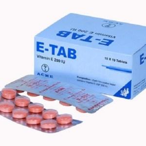 E-Tab - 200 IU Chewable Tablet ( ACME )