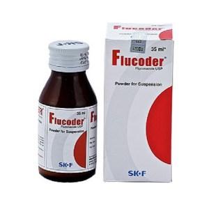 Flucoder- Powder for Suspension 50 mg-5 ml - 35ml ( Eskayef )