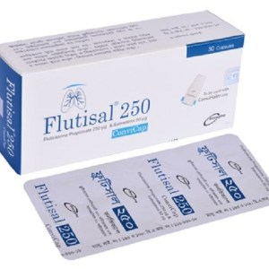 Flutisal- Inhalation Capsule 50 mcg+250 mcg ( Incepta )