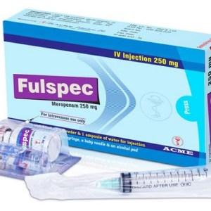 Fulspec- IV Injection 250 mg vial(ACME Laboratories Ltd)