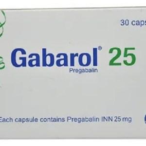 Gabarol - 25 mg Capsule ( ACI )