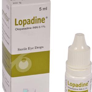 Lopadine- Opthalmic Solution 0.1% - 5ML Incepta Pharmaceuticals Ltd.
