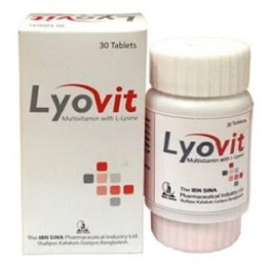 Lyovit- Tablet 30s bottle(Ibn-Sina Pharmaceuticals Ltd)