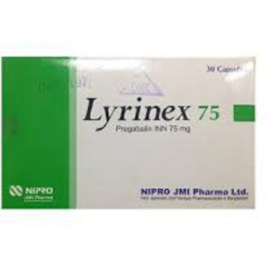 Lyrinex - 75 mg Capsule ( NIPRO JMI Pharma )