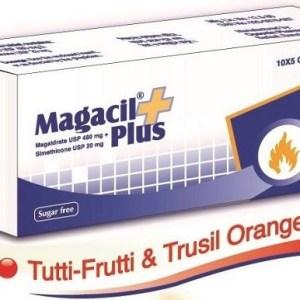 Magacil Plus - Chewable Tablet 480 mg+20 mg(Opsonin Pharma Ltd)