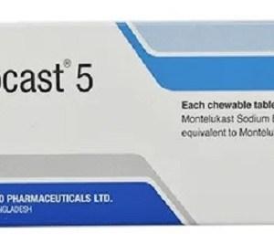 Monocast - Chewable Tablet 5 mg(Beximco Pharmaceuticals Ltd)