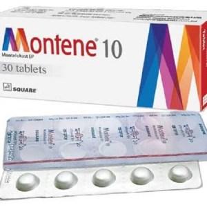 Montene- Chewable Tablet 10 mg(Square Pharmaceuticals Ltd)