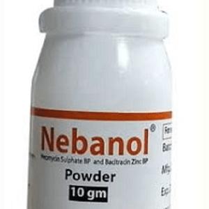 Nebanol- Tropical Powder 10 gm pack square pharma