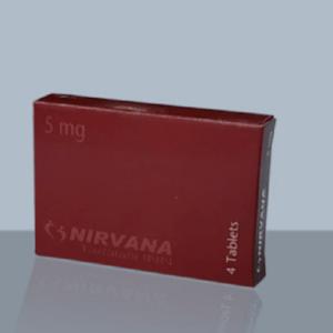 Nirvana Tablet Tadalafil 5 mg Healthcare Pharmaceuticals Ltd.