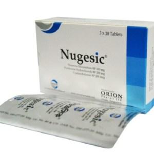 Nugesic- Tablet 100 mg+200 mg+200 mcg ( Orion )
