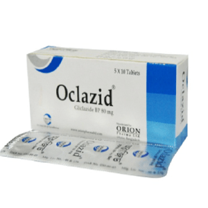 Oclazid MR Tablet 80 mg Orion Pharma Ltd.