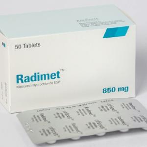 Radimet- Tablet 850 mg Radiant Pharmaceuticals Ltd