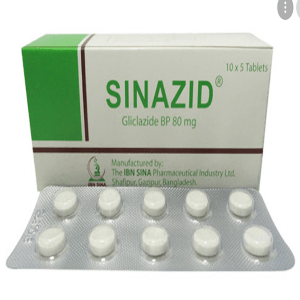 Sinazid Tablet 80 mg Ibn Sina Pharmaceuticals Ltd.
