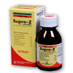 Supra-Z Syrup 100 ml Drug International Ltd.