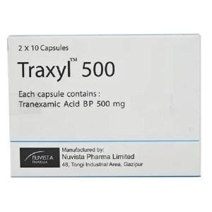 Traxyl- 500 mg Capsule ( Nuvista )