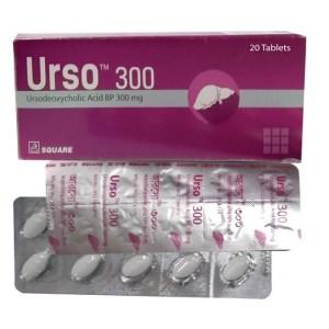 Urso - 300 mg Tablet( Square )