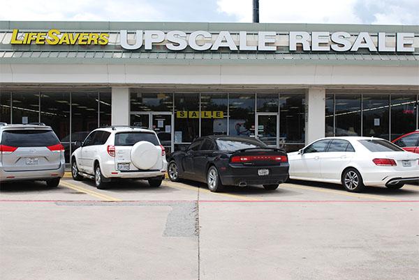 lifesavers upscale resale thrift store richardson tx