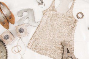 upscale resale woman's outfit