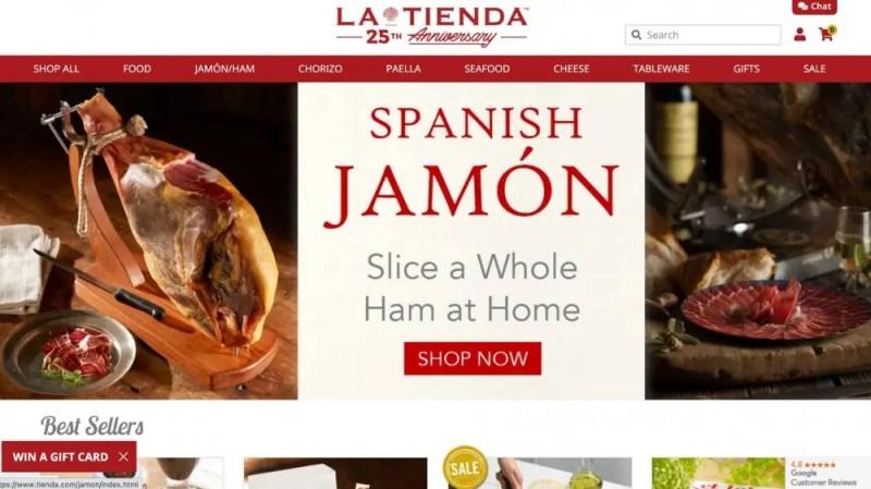 Comprar comida internacional desde casa ➤