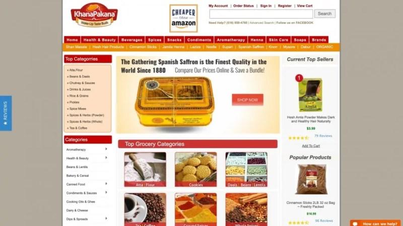Comprar comida internacional desde casa