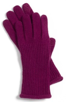 Tech Cashmere Gloves $38