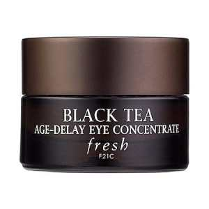 fresh black tea age delay eye concentration