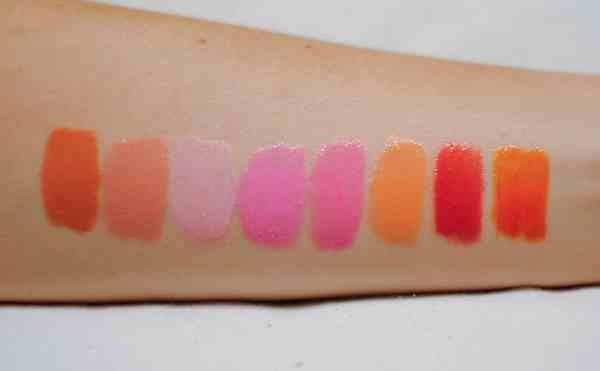 Whitening Lightning Lip Gloss Colors