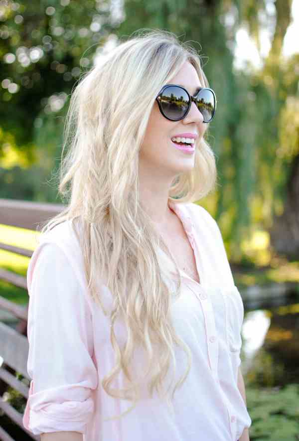 bellami ash blonde hair, fishtail braid