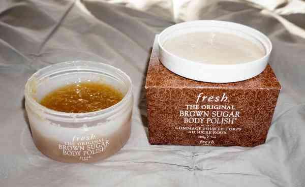 fresh brown sugar scrub