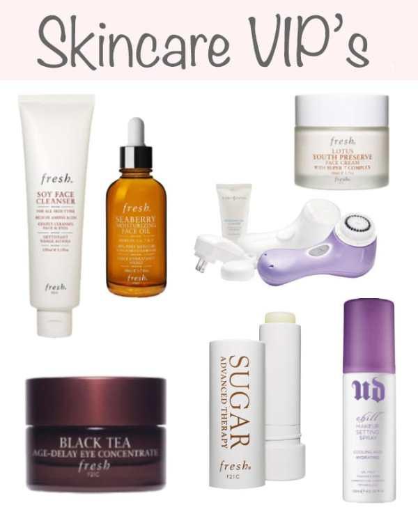skin care VIP's