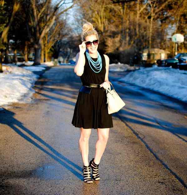 asos swing dress