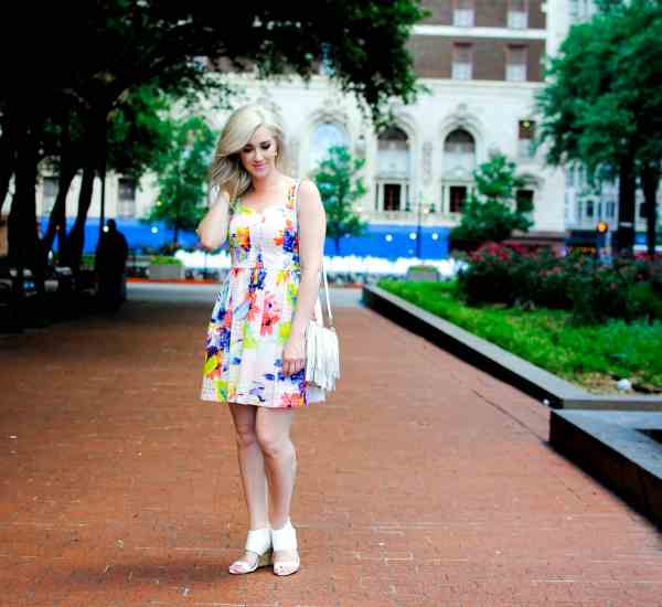 Trina Turk floral dress
