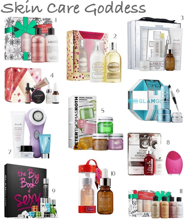 skin care goddess gift guide