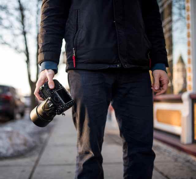 Nikon D810 with an 85mm 1.4g lens