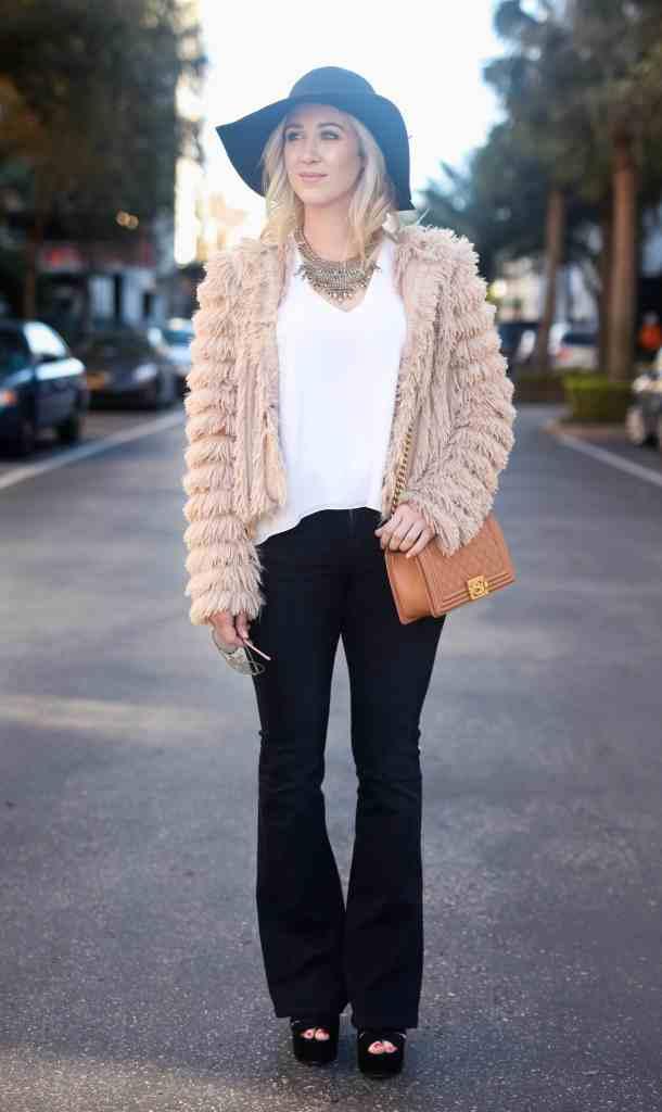 fringe jacket, 70's style